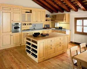 Уют кухни в стиле кантри фото