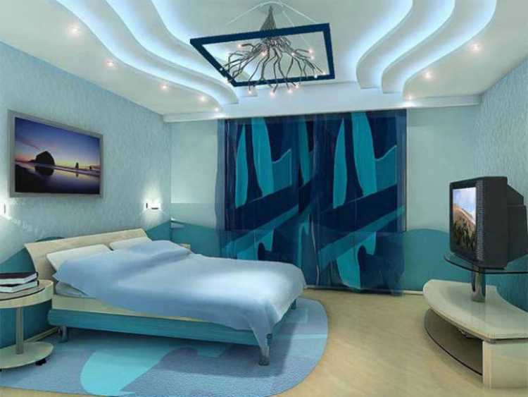Евроремонт спальня