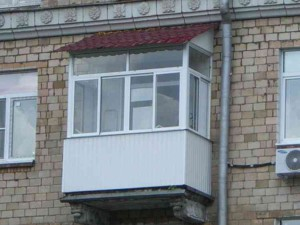 Готовая крыша на балкон фото