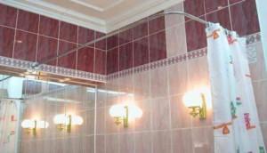 Угловой карниз для ванной фото