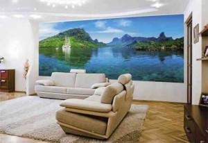 Фотообои для гостиной: возможность оживить дизайн фото
