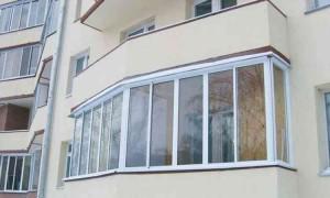 Застекленный балкон фото