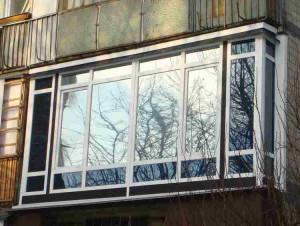 Пластиковые окна балкона фото