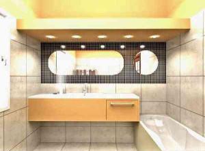 Дизайн проект небольшой ванной комнаты фото