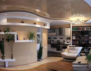 Дизайн и оформление стен в гостиной фото