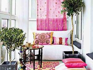Спальня на балконе фото