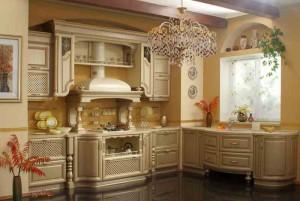 Дизайнерские варианты отделки кухни фото