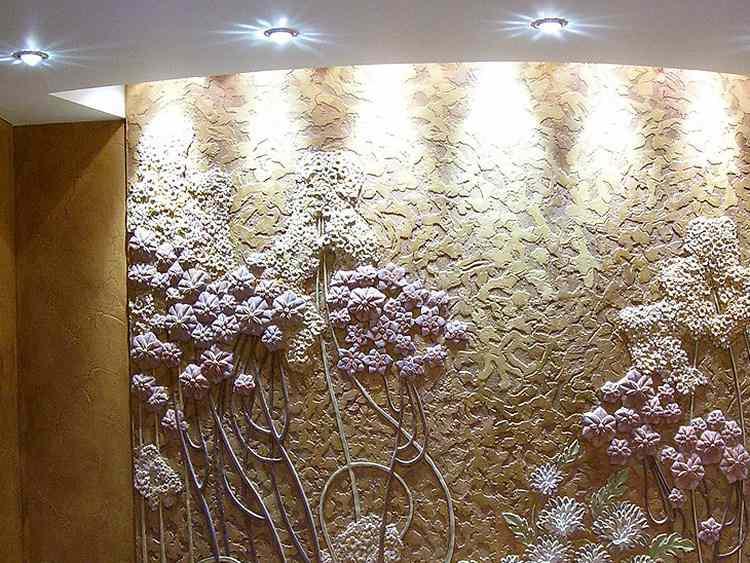 Декоративная отделка стен в квартире своими руками 21