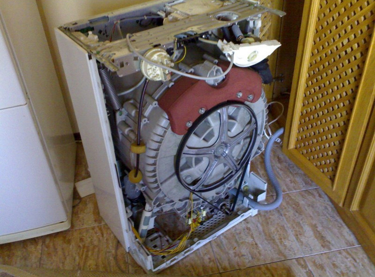 Ремонт стиральной машины автомата своими руками