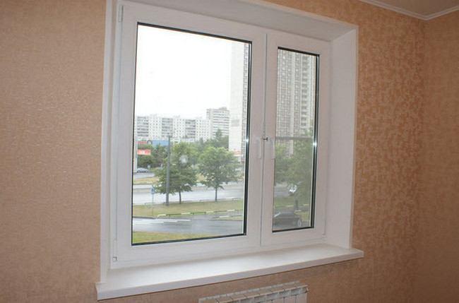 Штукатурка откосов окна своими руками фото