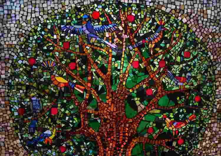 Стол из мозаики своими руками - фото и инструкция Своими 47