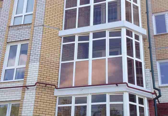 Тонировка балконов фото..