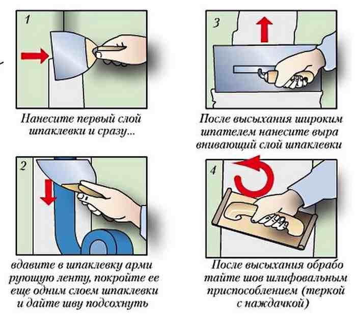 Армированный скотч для герметизации стыков