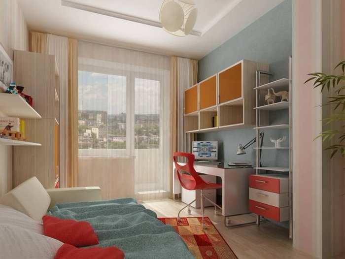 Планировка комнаты 18 кв м с ребенком. дизайн, планировка, и.
