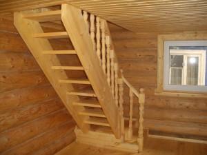 116-300x225 Создание лестницы для мансарды своими руками