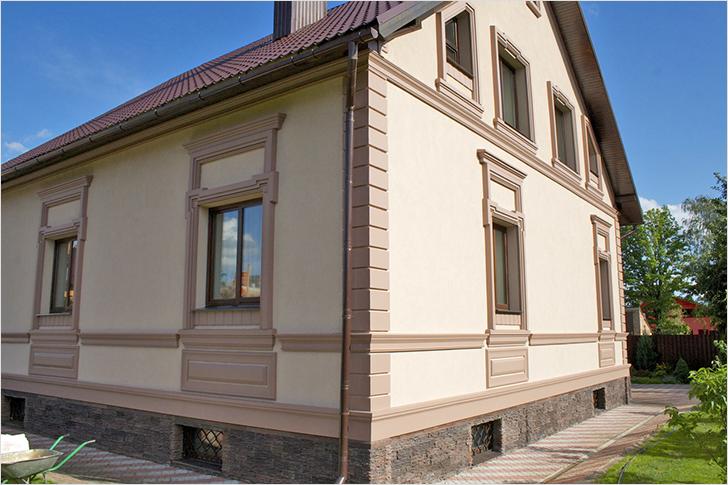118 Особенности и преимущества мокрого фасада