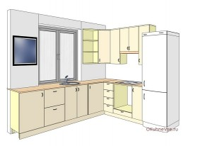 edf8dcd0893e69c20e3b438e1a25238d-300x206 Планировка угловой кухни