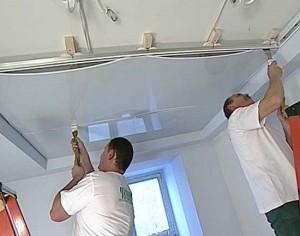 05-300x225 Монтируем натяжной потолок