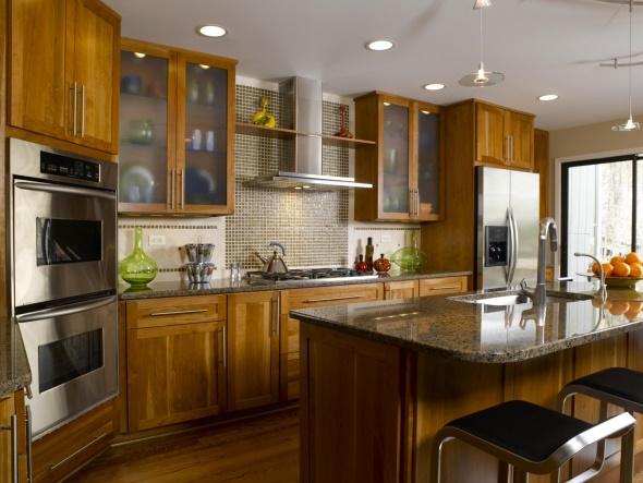 kuh-11 Ремонт на кухне: проектирование, отделка, особенности и оборудование