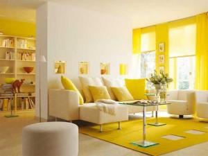 yellow-gostinaya2-300x225 Выбор интерьера для квартиры