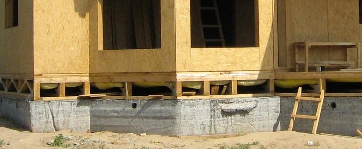 Ленточный фундамент под каркасный дом своими руками