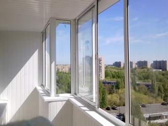 110 Особенности остекления балконов и лоджий с выносом