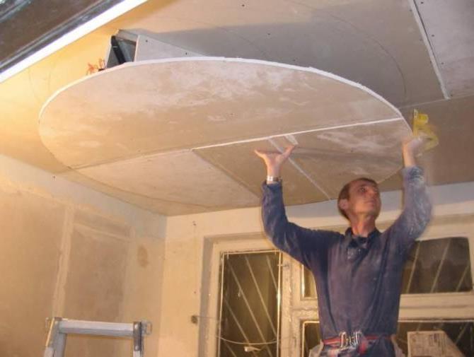 -потолка-в-квартире-при-помощи-гипсокартона.1 Ремонт потолка в квартире при помощи гипсокартона