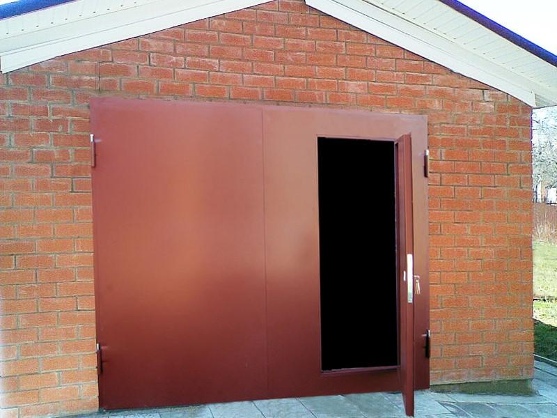 otkatnye-vorota Виды металлических гаражных ворот