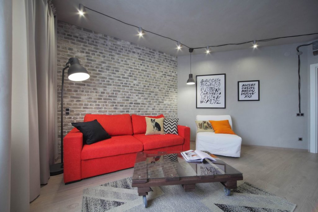 loft_v_kvartire Стены под лофт или авангардный промышленный дизайн