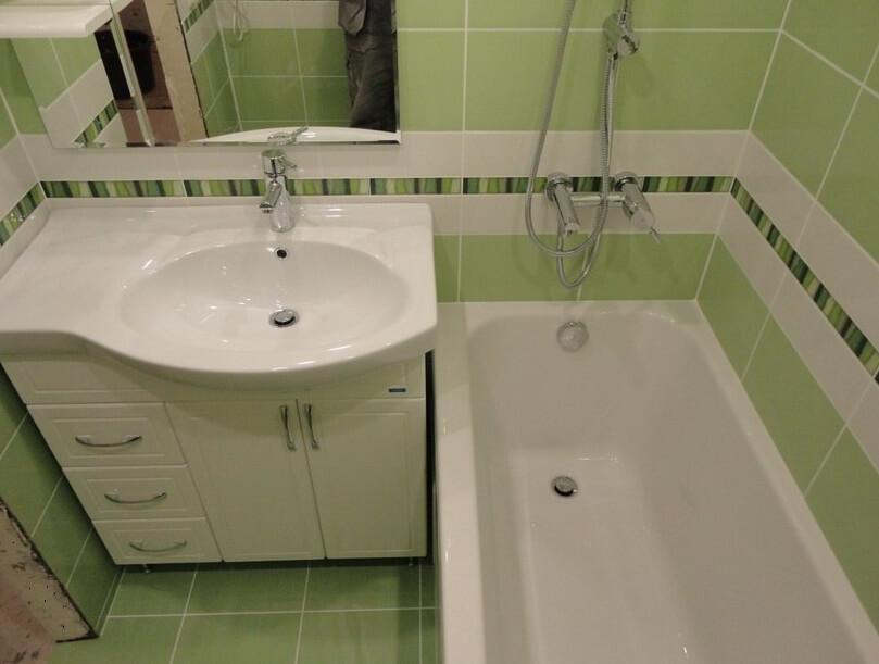 Ремонт в ванной комнате пошагово. Фото и этапы работ