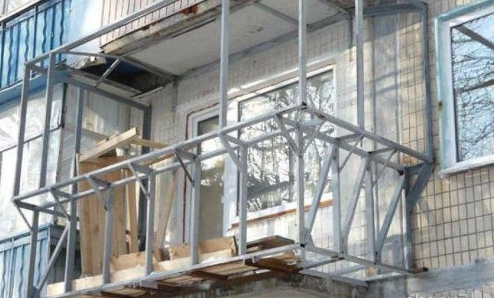 -балкон Выносной балкон - все, что нужно знать при желании сделать выносной балкон