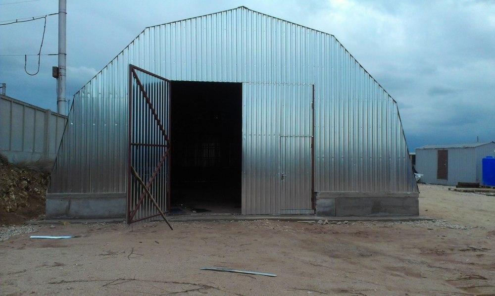 arochniy-angar-1 Особенности арочных ангаров: строительство и применение