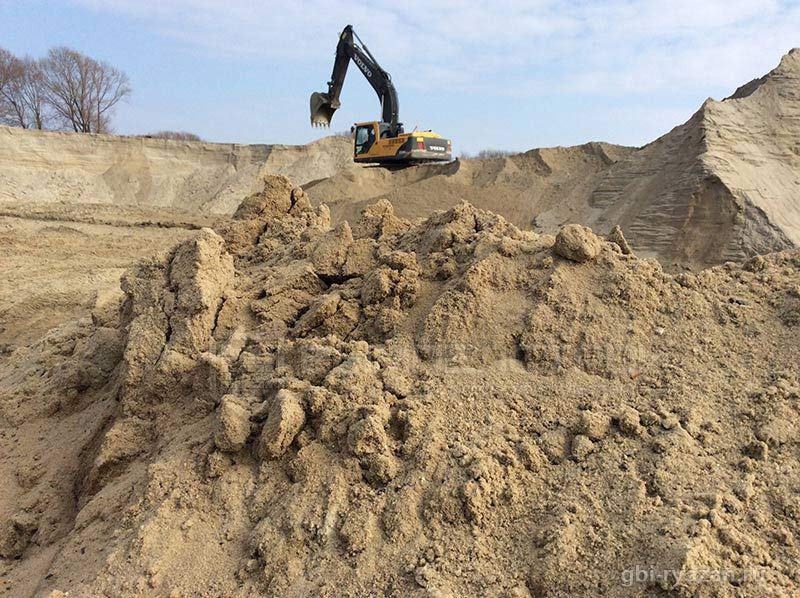 083_big Использование речного песка в строительстве