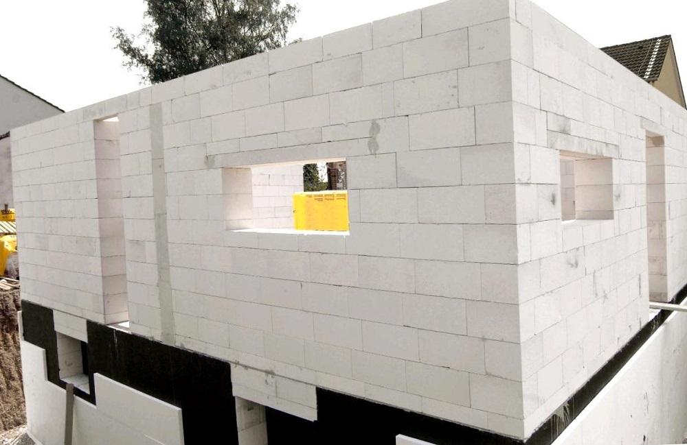 gazobeton Строительство дома из пенобетонных блоков