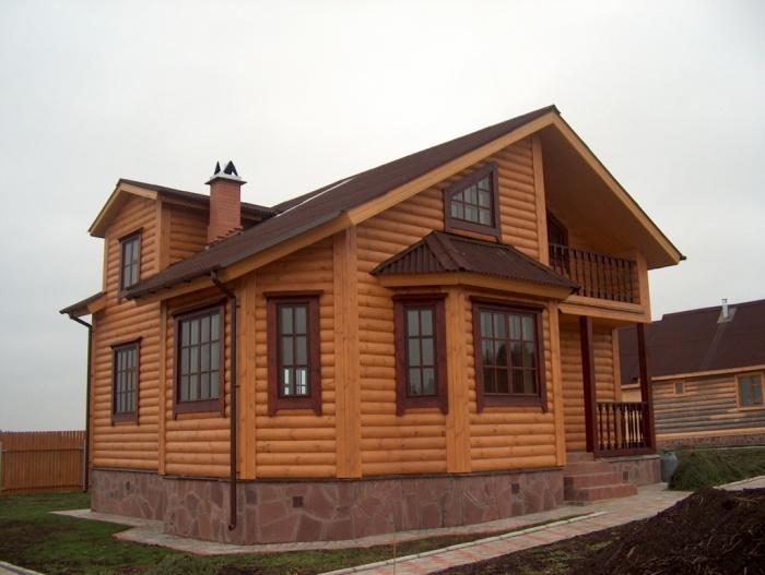 asa-2 Обшивка фасада блок-хаусом