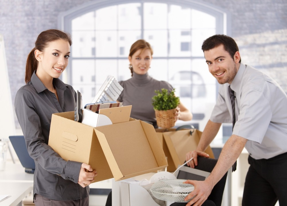 Офисный переезд с помощью мувинговой компании