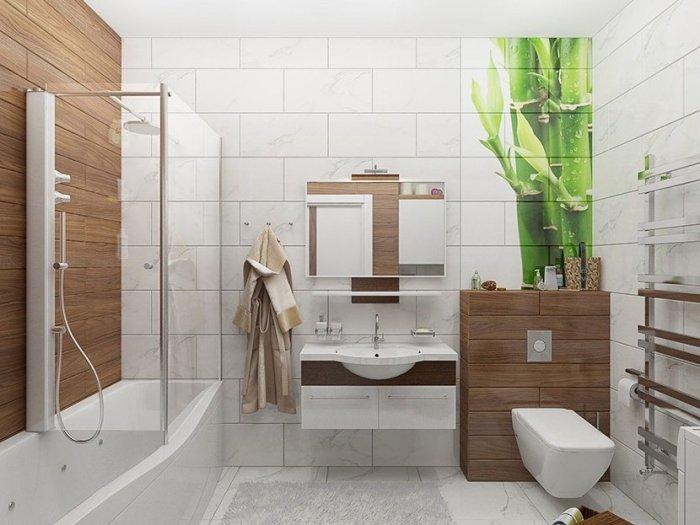 shikarnyy-1 Как выбрать дизайн для маленькой ванной комнаты
