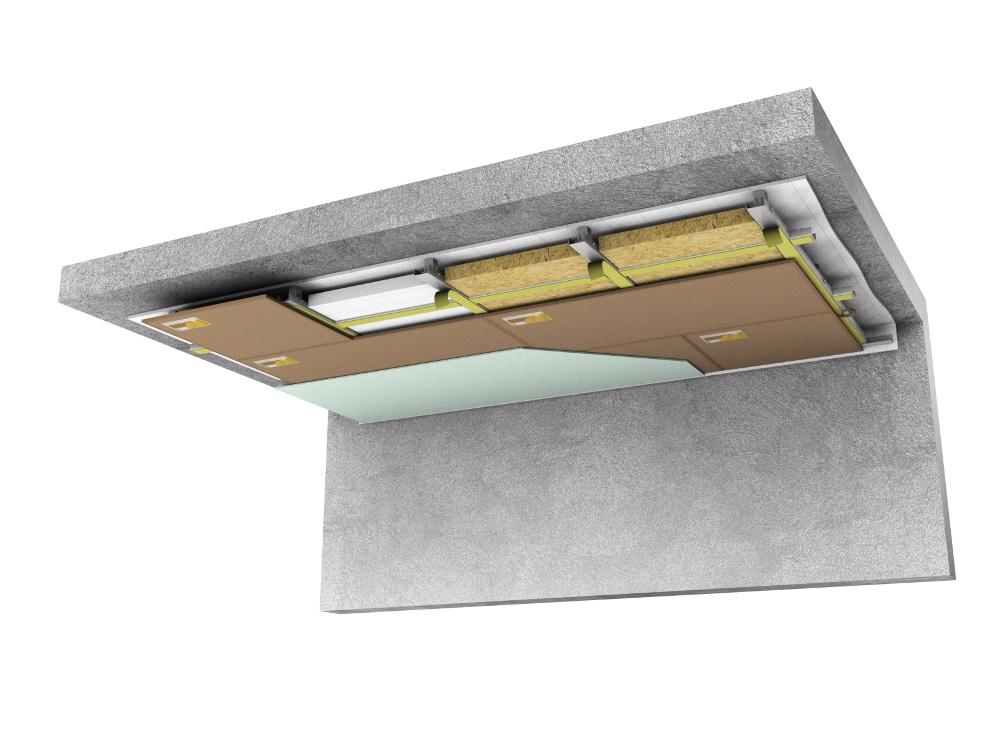 Виды шумоизоляционного оснащения для потолков в квартирах и офисах