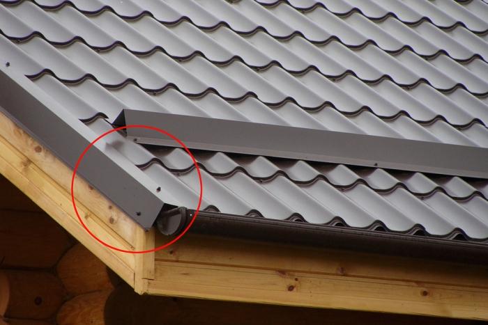 vetrovaya-planka-1 Каркас крыши: устройство и принципы изготовления