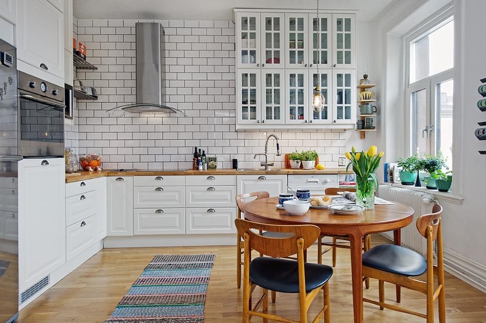 Особенности дизайна кухни в скандинавском стиле