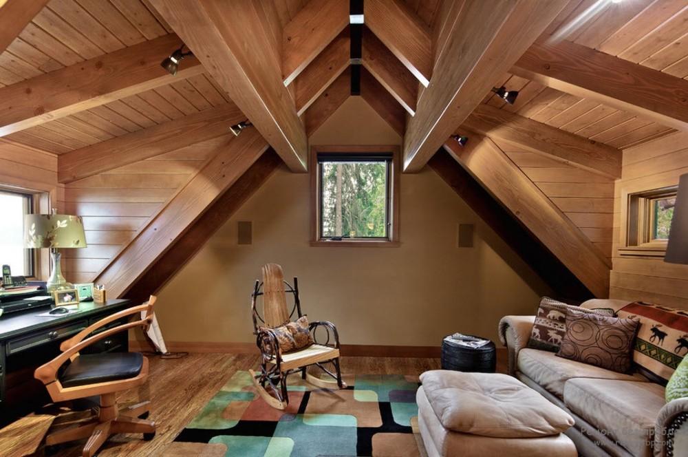 Чтобы деревянный дом дольше прослужил
