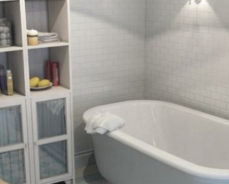 udobnaya_nebolshaya_vannaya_komnata Удобная небольшая ванная комната