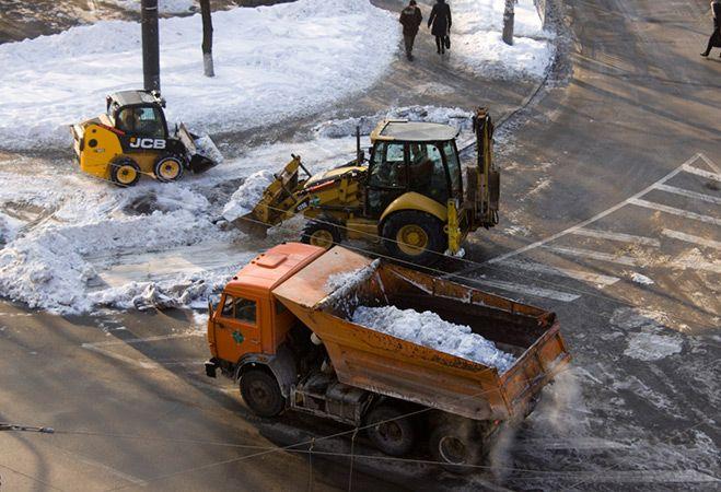 vivoz_snega_kontejnerom_27_kubometrov_i_8_kubometrov Вывоз снега контейнером 27 кубометров и 8 кубометров