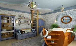 Detskaja-komnata-v-morskom-stile-01-300x182 Детская комната в морском стиле