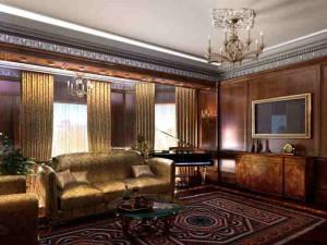 gostinaja_v_anglijskom_stile-01-300x212 Уютная  и добротная гостиная в английском стиле