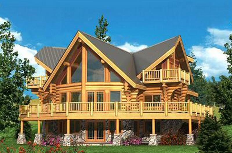 049-300x189 Дома из дерева: качество и практичность
