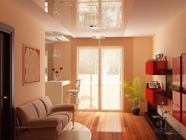 2-300x225 Как визуально увеличить площадь помещения