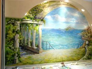 rospis-sten-300x181 Роспись стен и потолков в интерьере