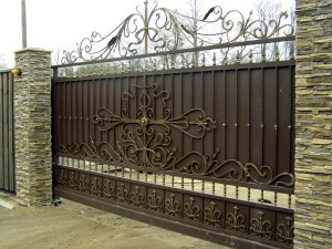 vorota-300x199 Кованые ворота