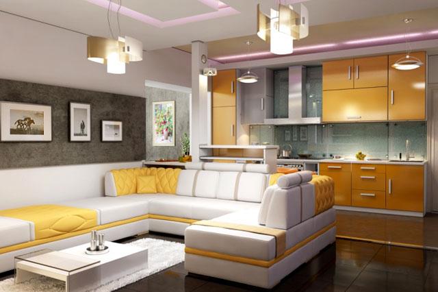 -совмещенная-с-гостиной-дизайн-300x200 Кухня совмещенная с гостиной